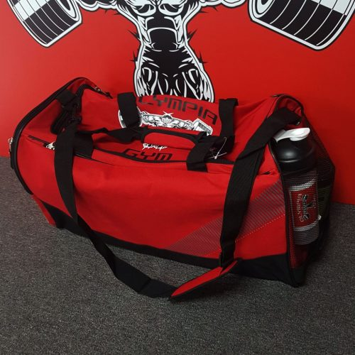 Red Olympia Gym Bag